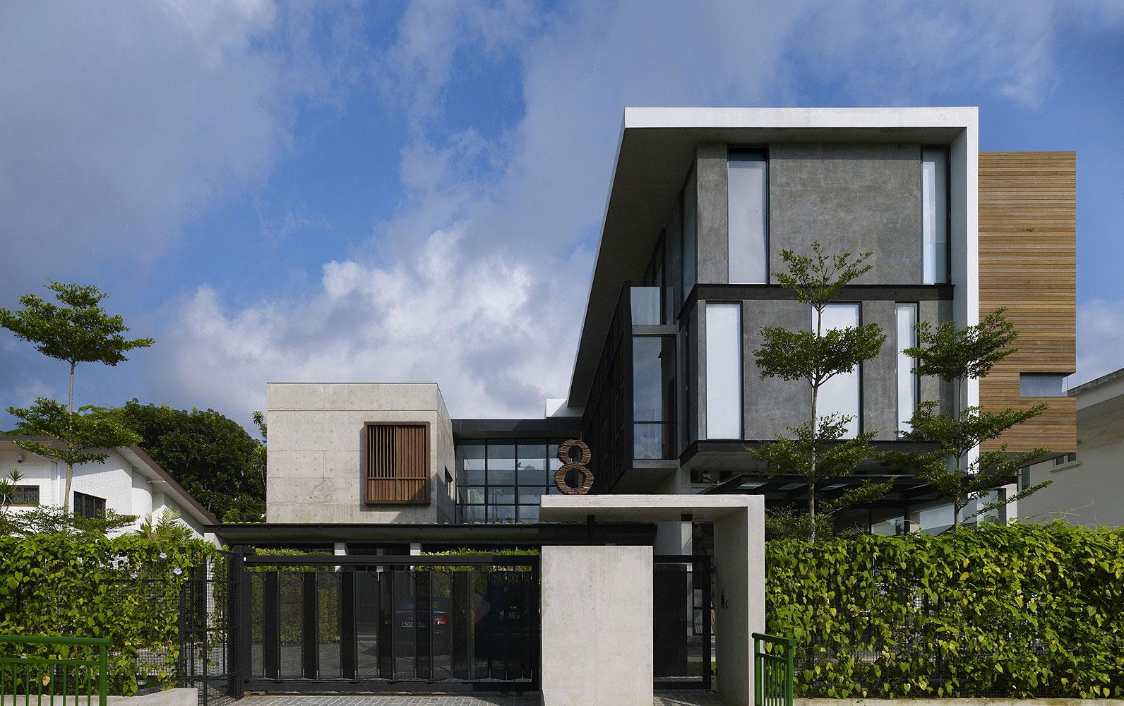 Večstanovanjska hiša, vir: http://www.davidrennert.com