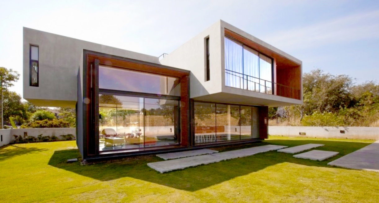 Razgibana hiša, za katero stoji ideja arhitekta