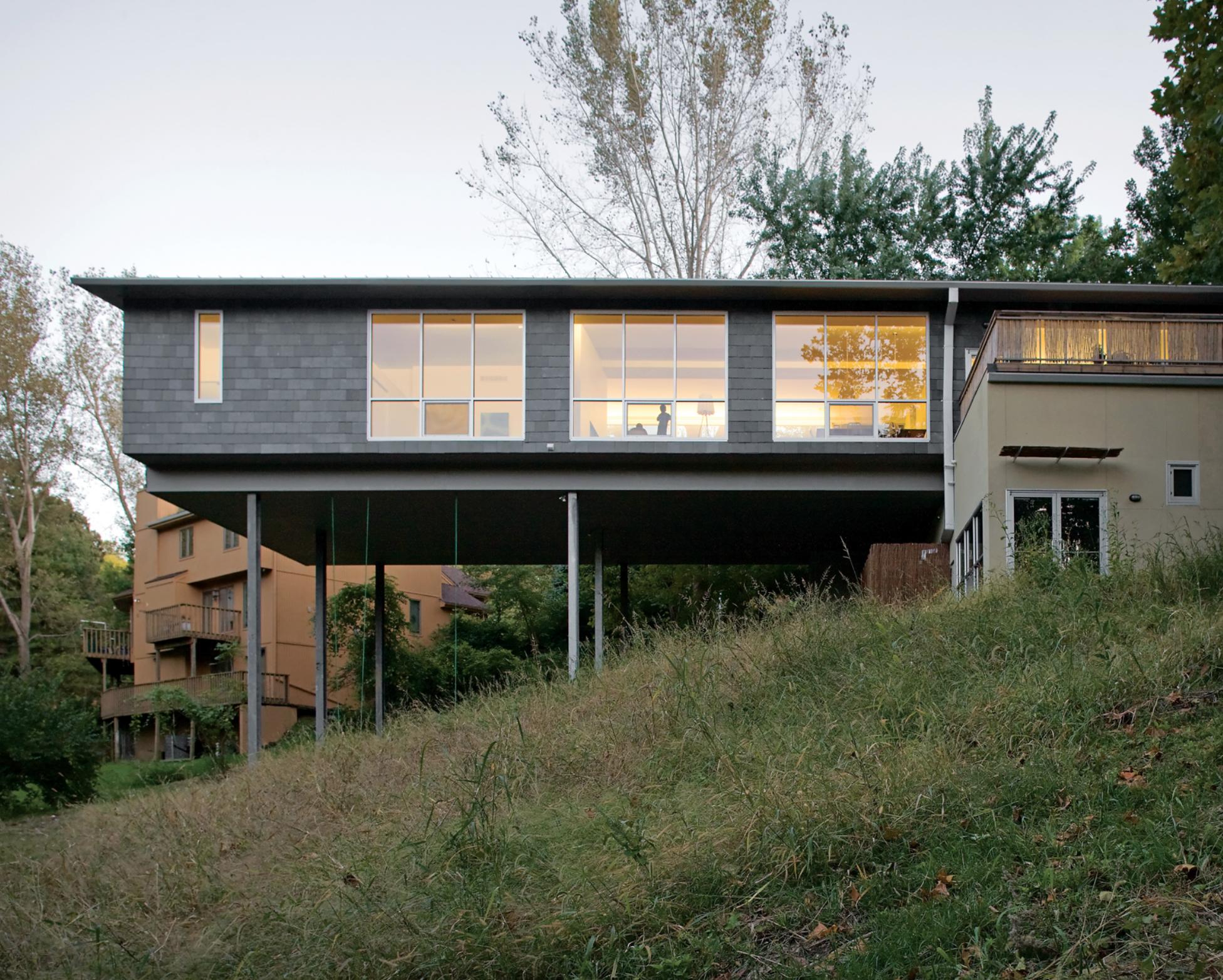 Hiša na hribu, vir: Dezeen