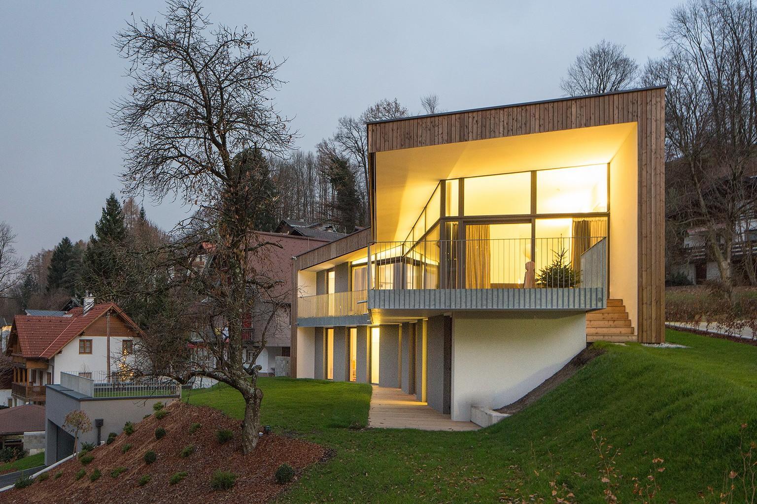 Ravna parcela ali parcela na hribu for Site design architecture