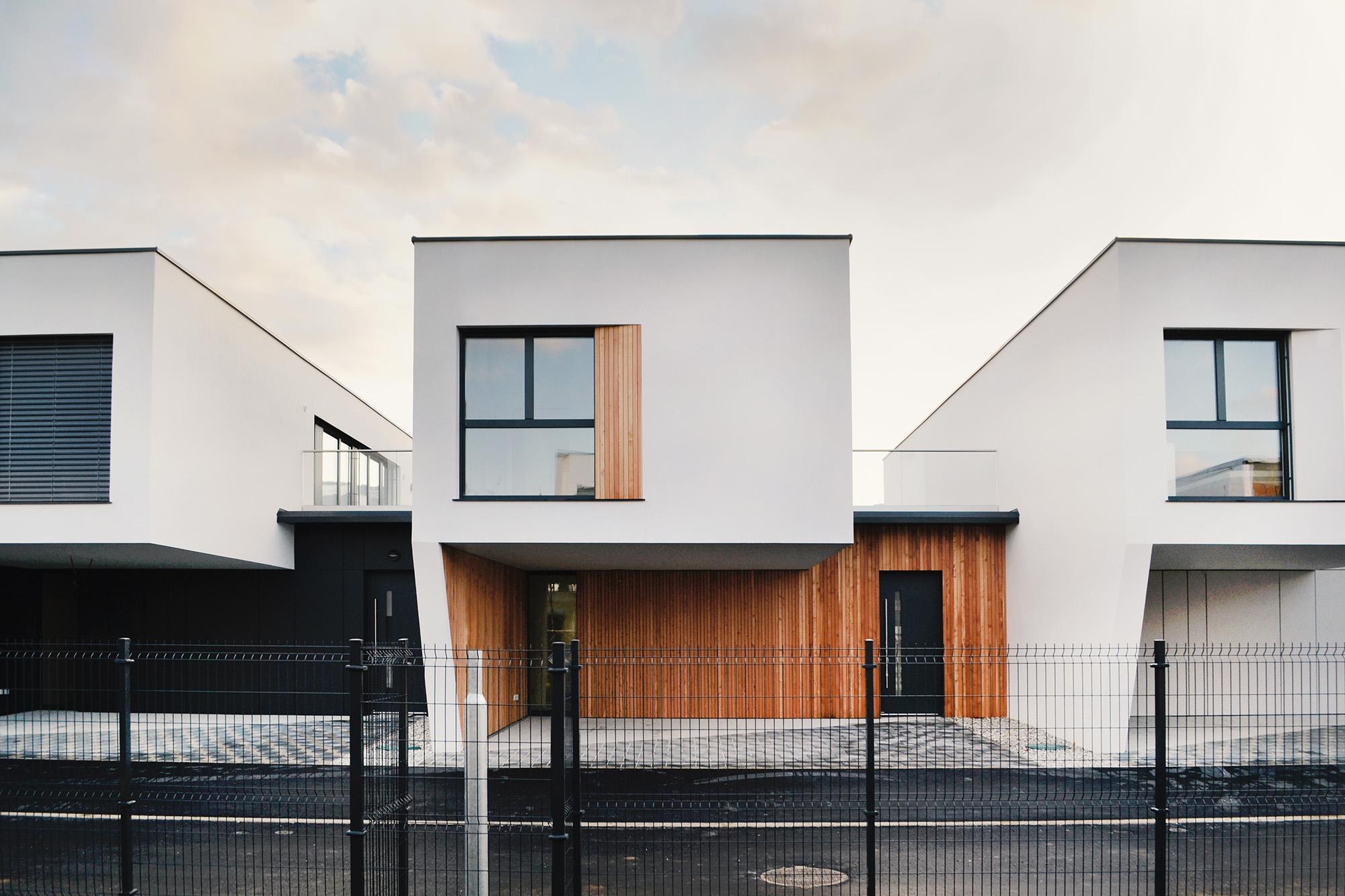 Prve uspešno prodane hiše na Studencih so nastale v arhitekturnem biroju Coinhab Vir: Coinhab