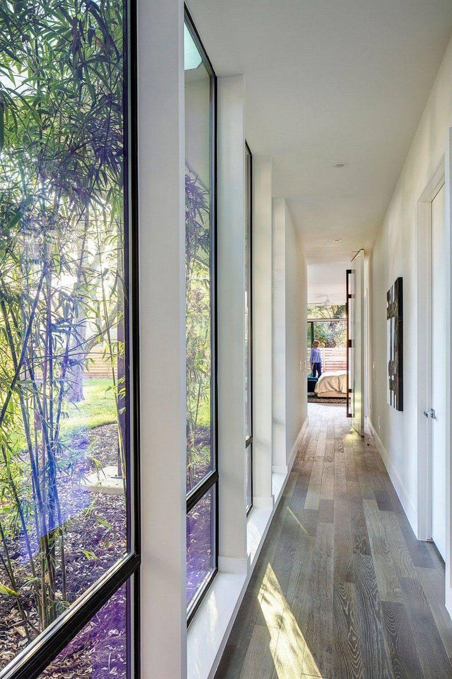 Naravna osvetlitev hodnika