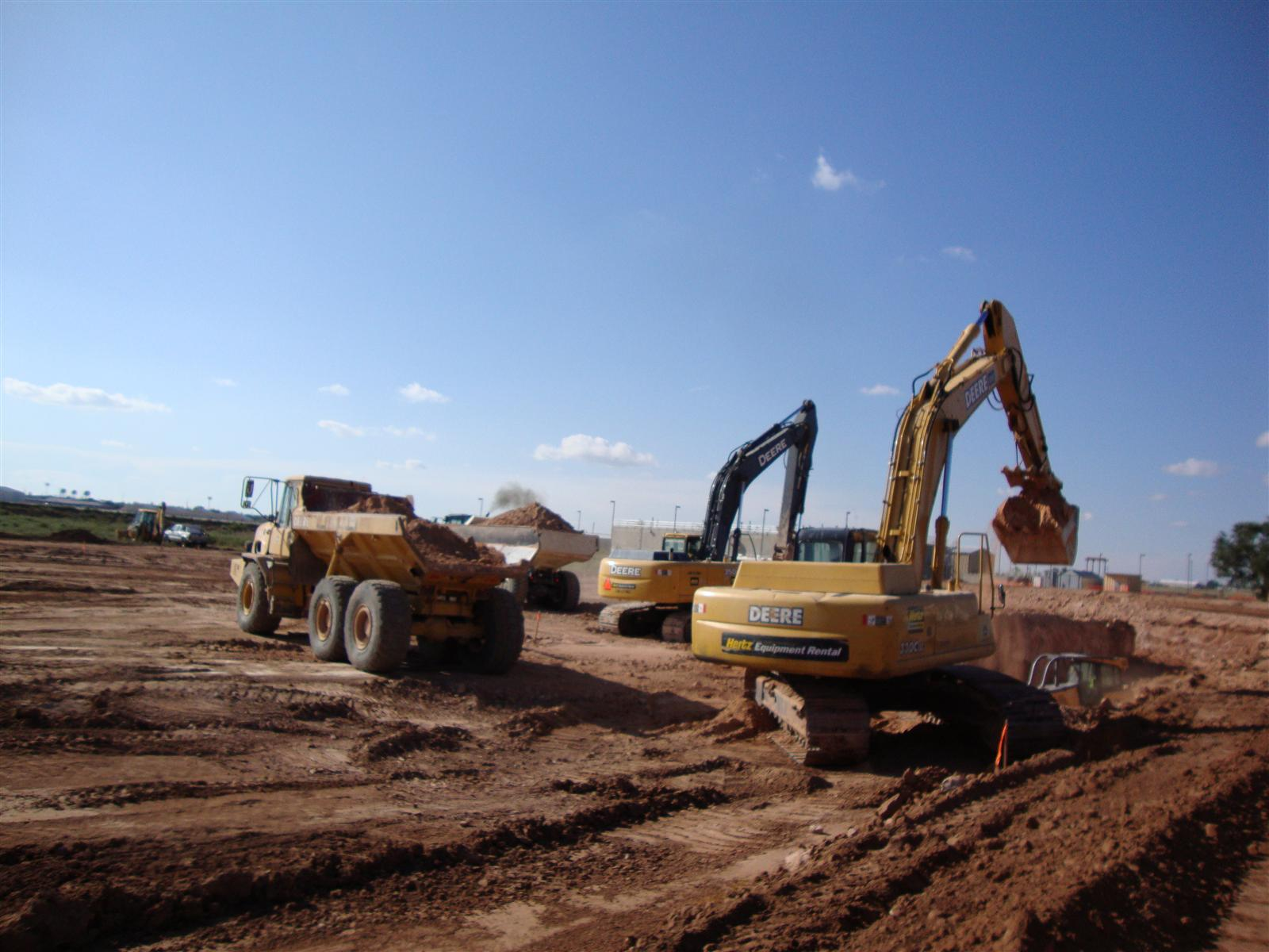 Prva gradbena faza, vir: www.hdrinc.com